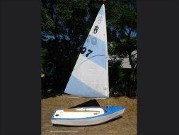 Sail Dingy with sail 3000x1300mm